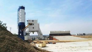 Container Type Concrete Mixing Plant