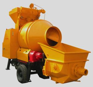 Concrete Pump with Mixer hot sale